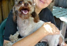 Patty and Waldo – much happier now!